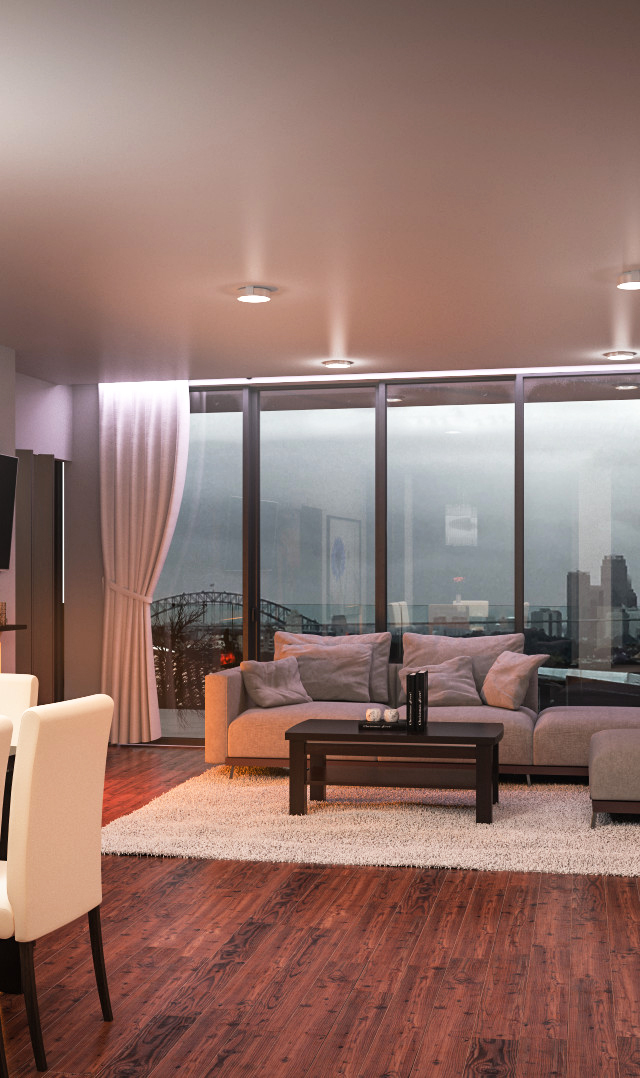 Interior 3d Rendering Dawn