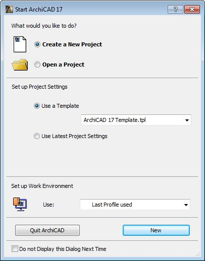 List Of Things To Do When Starting A New ArchiCAD Project