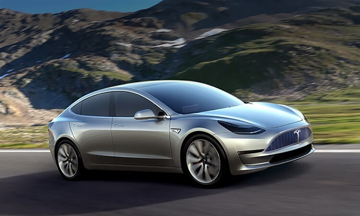Tesla Model 3 - option1