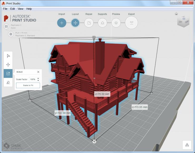 AutoCAD 2017 - Autodesk Print Studio